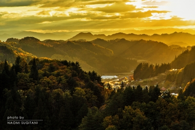 黄金の光 :飛騨高山
