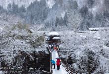 2014.12.13 迫る白い世界 ~白川村