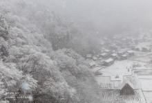 2015.11.27 初雪の白川村