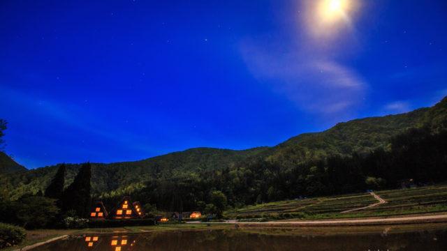 2016.05.17 白川村の夜