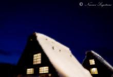 2013.02.09 白川村 ライトアップ